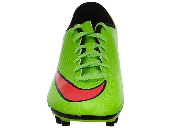 Nike Mercurial Vortex Ii Fg, Chaussures de football homme - Rouge (Hypr Punch/Mtlc Gld Cn-Blk-Vlt), 44 EU