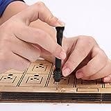 Ginode 10Pcs 0.3mm-1.2mm PCB Print Circuit Board