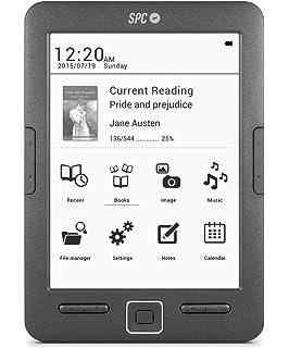 SPC Dickens Light - Libro electrónico con luz en pantalla, memoria ...