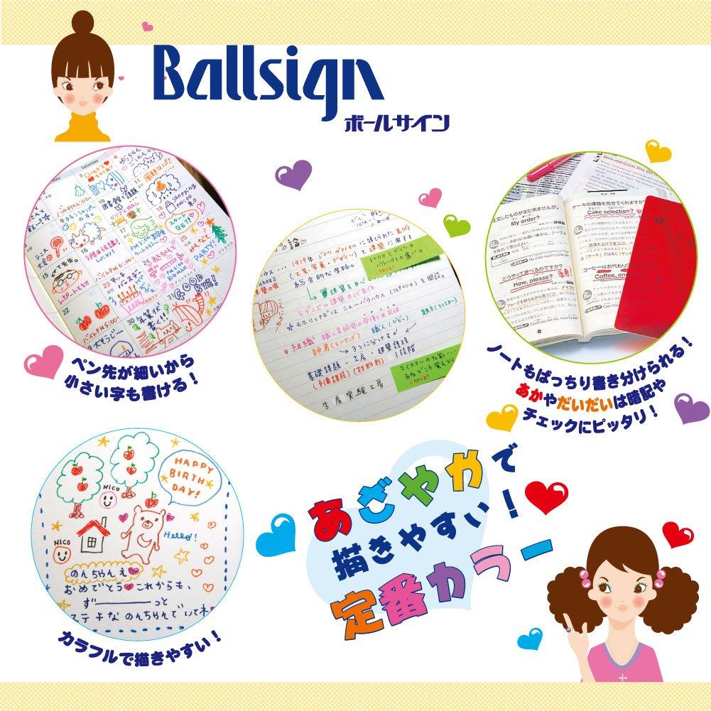 Sakura Color Ball Sign 12/colors Juego 876/260/ Japan Import