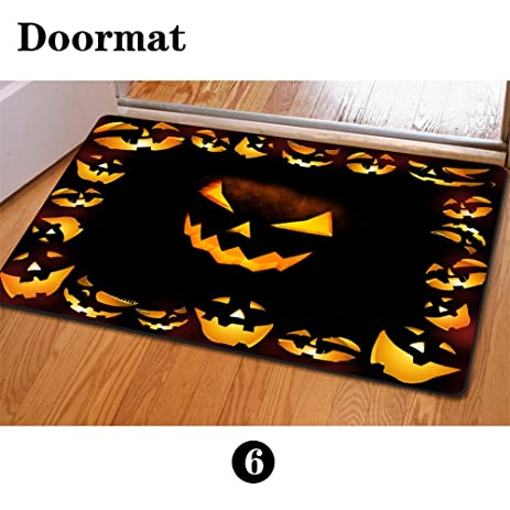 Exceptional Mumeson Halloween Scary Sounds Doormat Bath Mats Non Slip Kitchen Rugs And  Mats 4x6