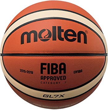 Amazon.com: Molten Serie X pelota de baloncesto de piel ...