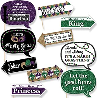 product image for Funny Mardi Gras - Photo Booth Props Kit - 10 Piece