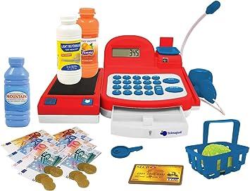 itsImagical - Electronic Cash, Caja registradora electrónica con luz y Sonidos (Imaginarium 85526): Amazon.es: Juguetes y juegos