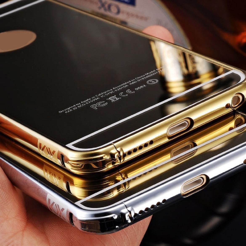 Iphone 6 Plus Golden Mirror Case Umikotm Luxury Anti Casing Glossy Diamond 6s 7 Scratch Ultra Thin Metal Aluminum Frame Gold Cell Phones