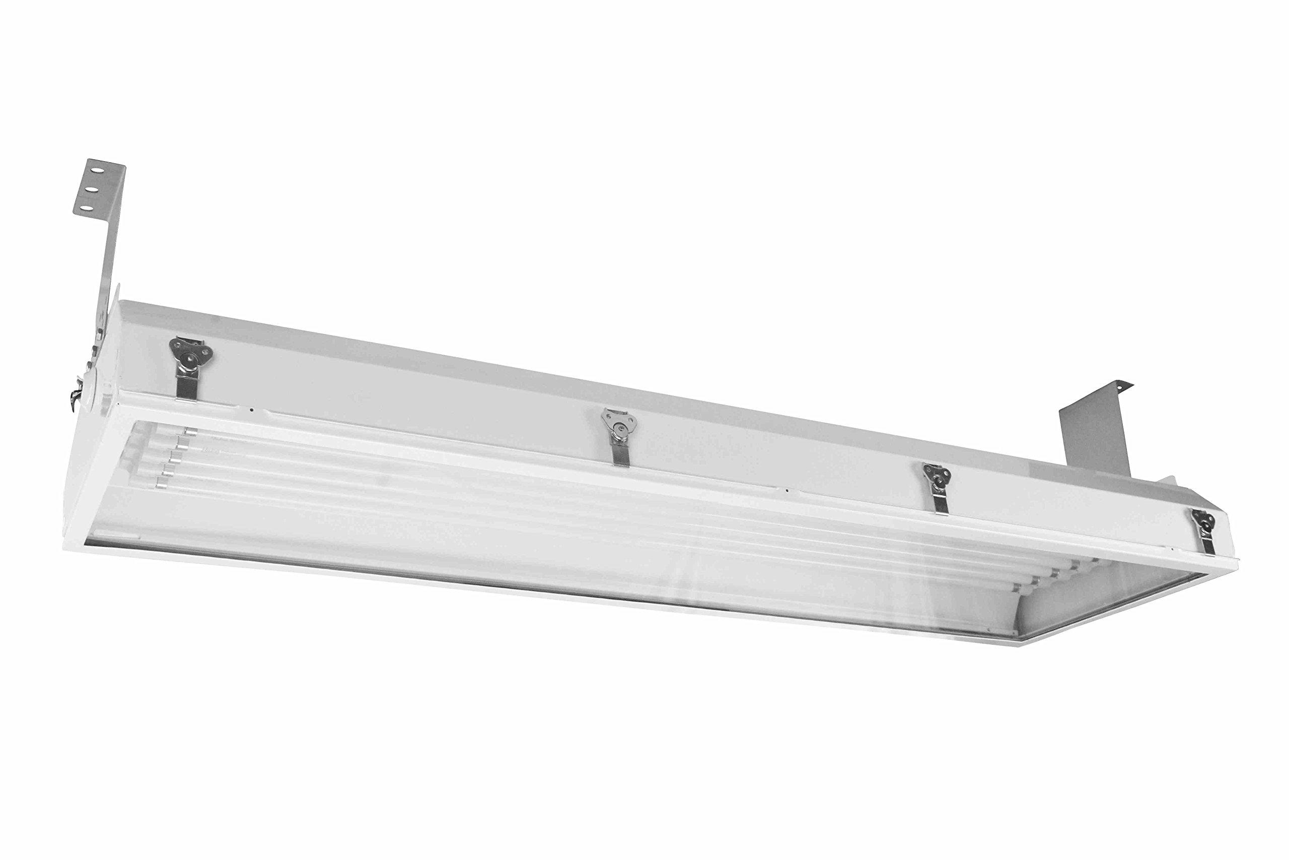 Hazardous Location Fluorescent Lighting Fixture - 4' 6 Lamp - T8 - Class I Div 2 & Class II Div 2(-Cable)