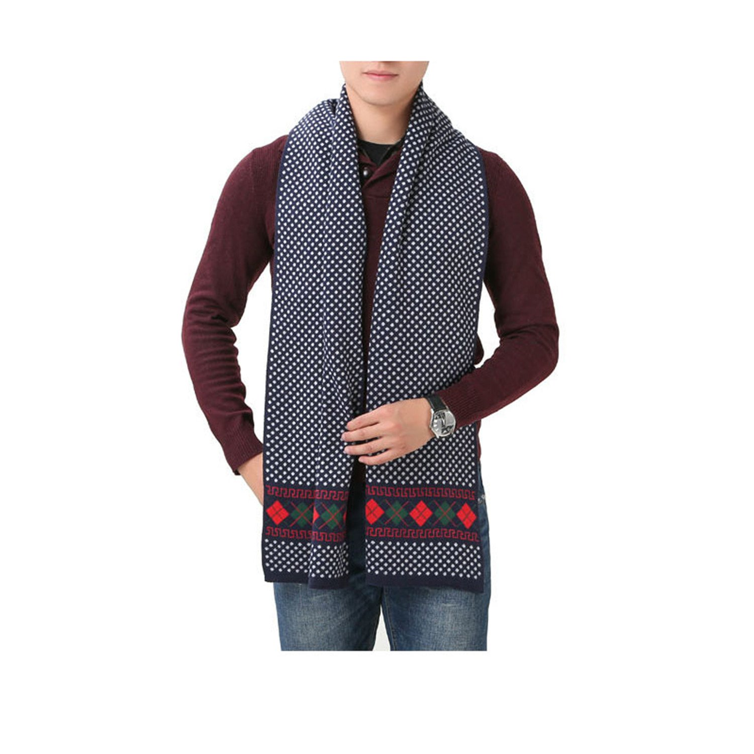 Special Beauty Warm NEW Winter Business Scarf Brand Men Scarves Wool Warm Shawl Cashmere Long Causal Man Wraps