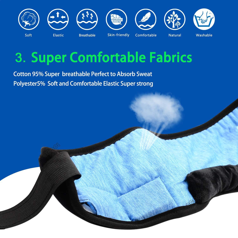 Sleep Headphones, Bluetooth Sleeping Headphones Bluetooth Headband with Detachable Stereo Thin Speaker for Side Sleepers, Sleeping, Sports, Meditation & Relax, Ultra Soft, Long Time Play, Unisex