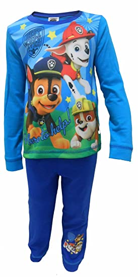 Boys//Girls Paw Patrol Character Pyjamas 100/% Cotton 18-24 months