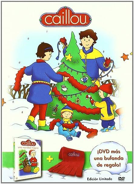 Caillou una navidad mgica  bufanda DVD Amazones Varios
