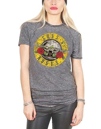 T-shirts Classic Bullet Logo T-shirt Guns N´roses