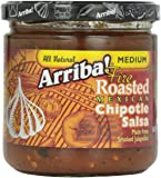 Arriba! Chipotle Salsa, 16-Ounce Glass (Pack of 6)