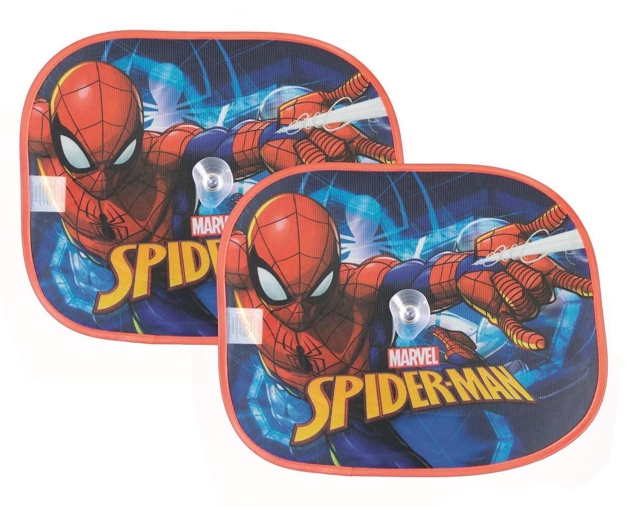 familie24 Sonnenschutz 2er Set Kinder Sonnenrollo Auto Spiderman Paw Patrol My Little Pony PJ Masks Paw Patrol Boy
