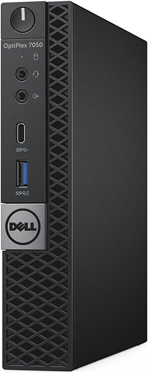 Dell OptiPlex 7050 Micro Form Factor Desktop Computer, Intel Core i5-7500T, 8GB DDR4, 256GB M.2 Solid State Drive, Windows 10 Pro