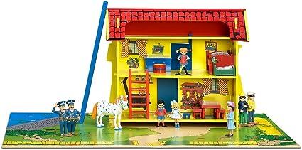 Pippi Longstocking dollhouse miniature book