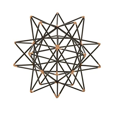 Deco 79 95243 Trendy Metal Wire Star Décor, 7  W x 7  H