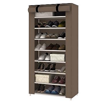 MultiWare Schuhregal Schuhstander Schuhablage Schuhschrank Schuhe Aufbewahrung 10 Ebenen Fur 40 Paar Amazonde Kuche Haushalt