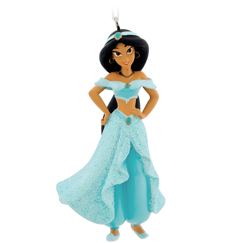 Amazon.com: Hallmark Disney Aladdin Jasmine Christmas Ornament ...