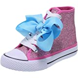 2b7e88586d2 Nickelodeon Shoes JoJo Siwa Pink Glitter Girls  JoJo Legacee Sneaker High- Top 2.5 Regular