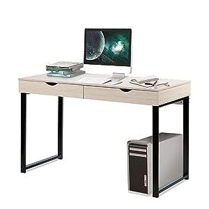 IKEA Desk, 47 Inch Wooden Computer Desk