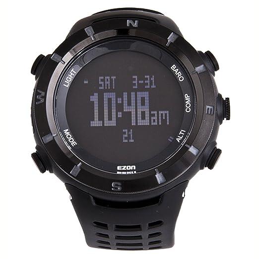 EZON H001 C01 senderismo escalada de montaña reloj deportivo: Amazon.es: Relojes
