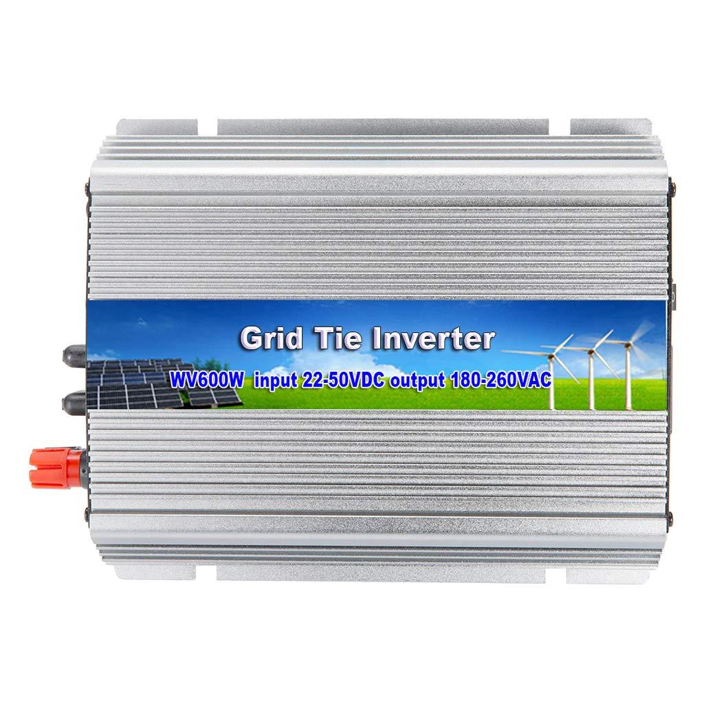 390x205x115mm perfk Spannungswandler 600W Wechselrichter DC 22-50V Power Inverter Converter