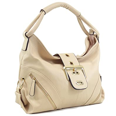b835bb6e6535 Amazon.com  DASEIN Womens Shoulder Bag Buckled Flap Handbag for Woman Top  Handle Purse Designer Fashion Hobo Bag  Shoes
