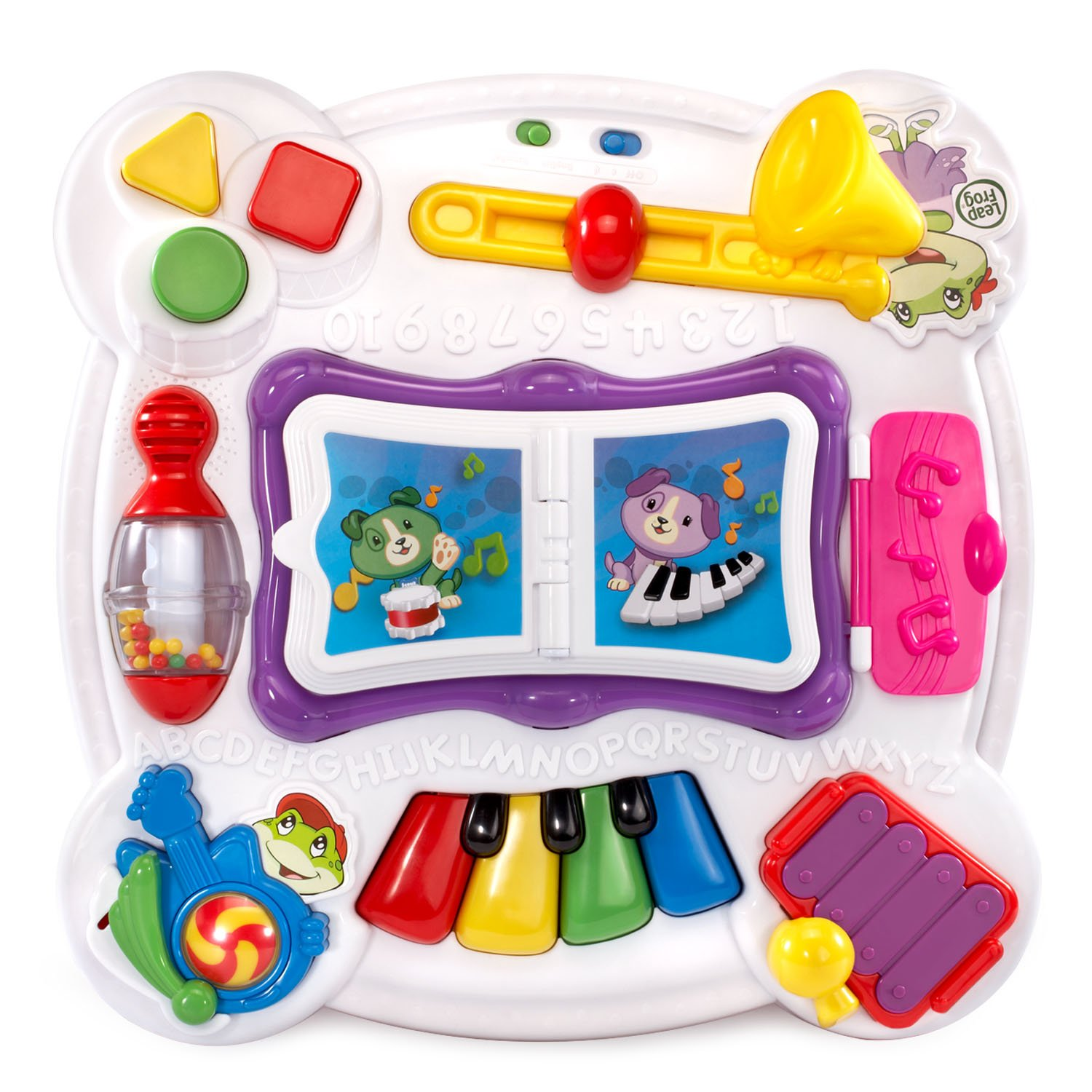 LeapFrog Learn and Groove Musical Table Activity Center Amazon Exclusive, Pink by LeapFrog (Image #2)
