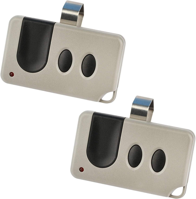 2 Garage Door Remote for Sears Craftsman (53753 139.53753)