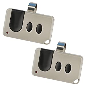 2 for Sears Craftsman Liftmaster Garage Door Opener Remotes (139.53753) 371LM