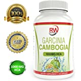 RapidWellness -100% Pure Garcinia Cambogia Extract - Made in the USA - Fat Burner - Appetite Suppressant - Lose weight quick! …