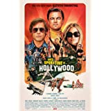 """Once Upon A Time in Hollywood - Movie Poster - Size 27""""x40"""" This is a Certified Poster Office Print with Holographic Sequenti"""