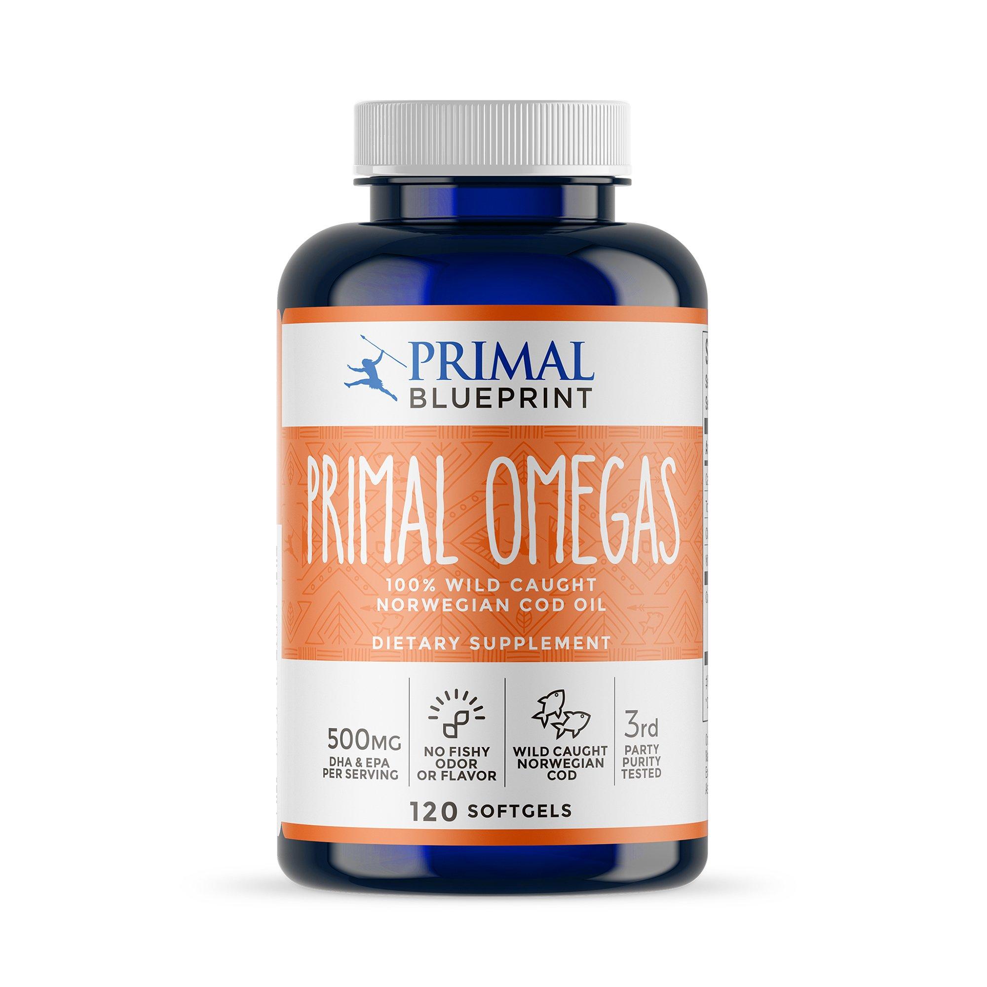 Amazon primal blueprint primal probiotics 30 count health primal blueprint primal omegas 90 count malvernweather Images