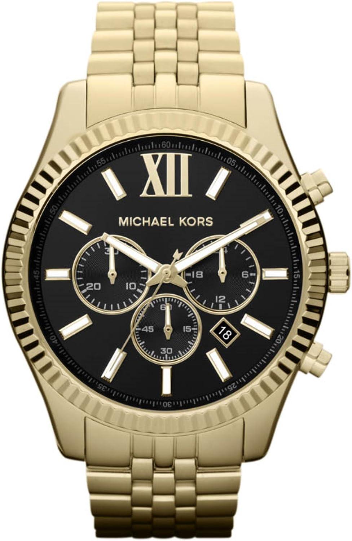 Michael Kors Reloj Cronógrafo para Hombre de Cuarzo con Correa en Acero Inoxidable MK8286