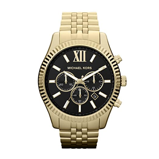 b78868264e73f Michael Kors Mens Chronograph Quartz Watch with Stainless Steel Strap  MK8286  Amazon.co.uk  Watches