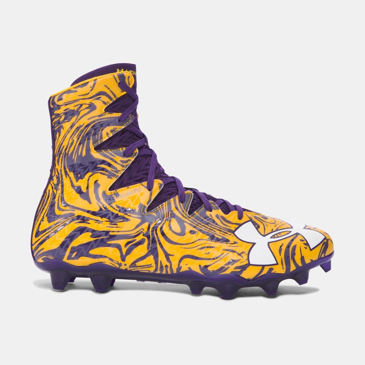 [アンダーアーマー] メンズ UA Highlight Lux MC Football Cleats [並行輸入品] B074WP1ZZR Purple 30.5 cm 30.5 cm|Purple