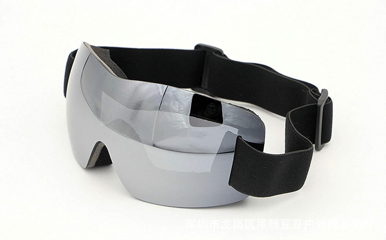 Coniea Skibrille Verspiegelt PC Sportbrille Herren UV Sport Sonnenbrillen