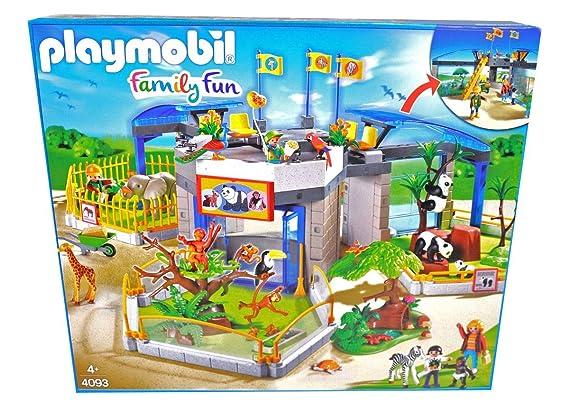 Amazon.com: PLAYMOBIL 4093 Animal Baby Zoo: Toys & Games