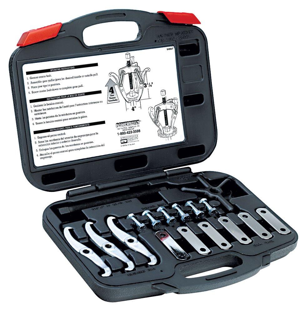 Alltrade 648647 Kit 16 Combination Reversible Jaw Gear Puller Tool Set Alltrade Tools