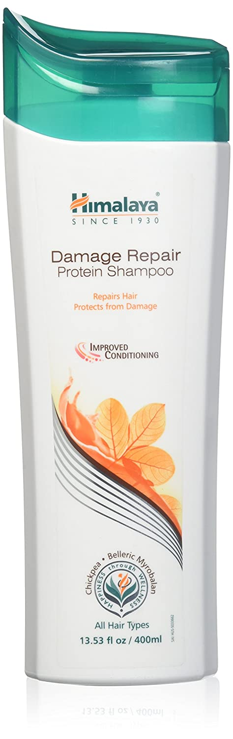 Himalaya Damage Repair Protein Shampoo for Dry, Frizzy Hair, 13.53 Ounce