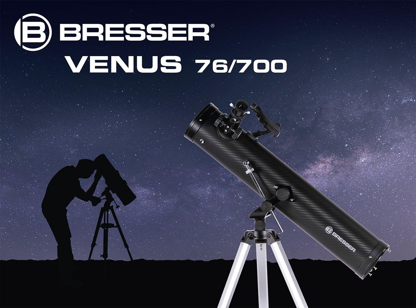 Bresser spiegelteleskop venus azimutal amazon kamera