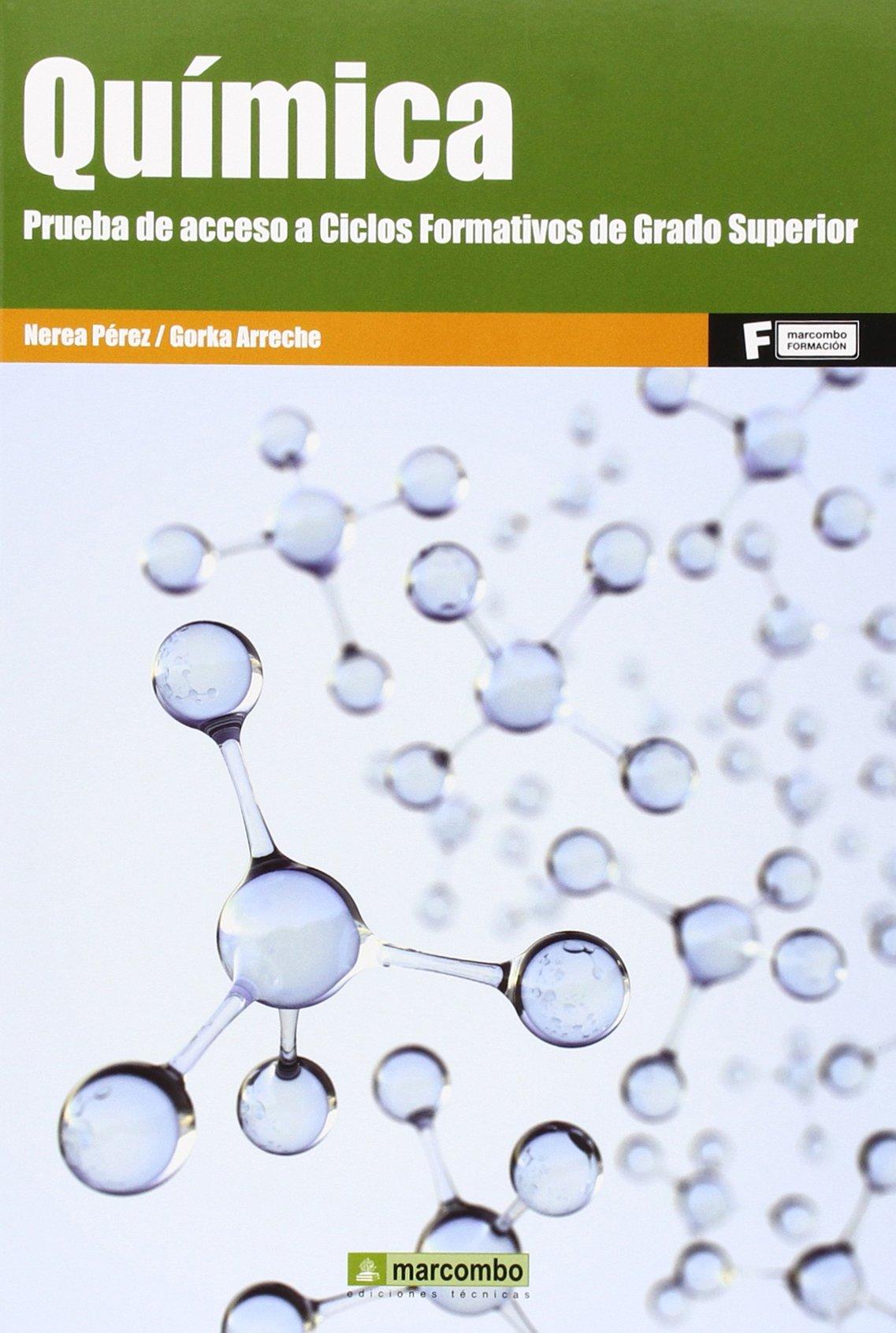 Química Prueba De Acceso A Ciclo Formativos De Grado