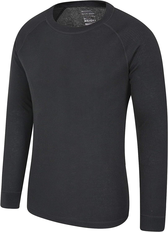 L/éger Voyages randonn/ée Gym Protection UPF 30 Confortable et /à s/échage Rapide Mountain Warehouse T-Shirt Endurance pour Homme Haut Respirant id/éal pour l/ét/é