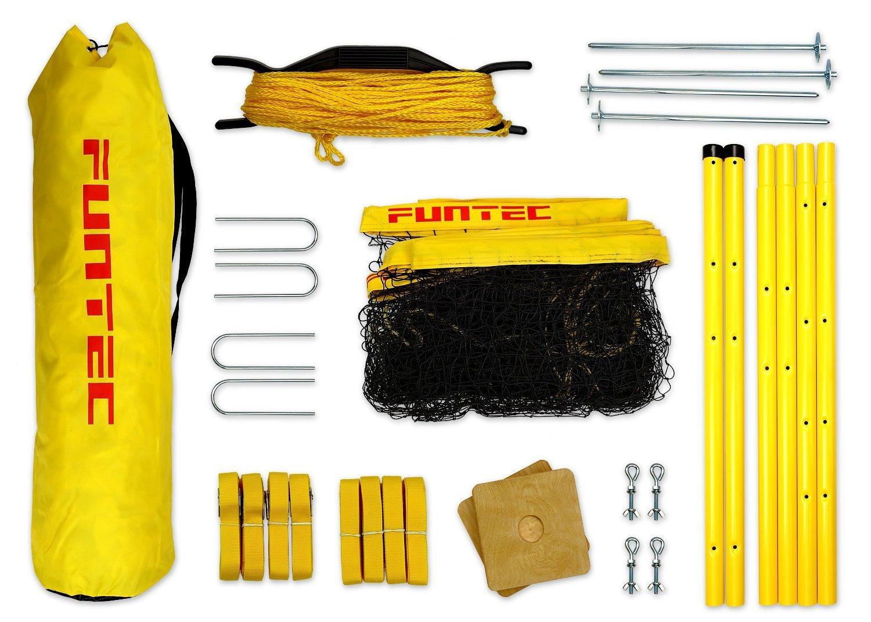 Funtec Fun Sports Set - Beachvolleyball- und Multisport-Set 111110