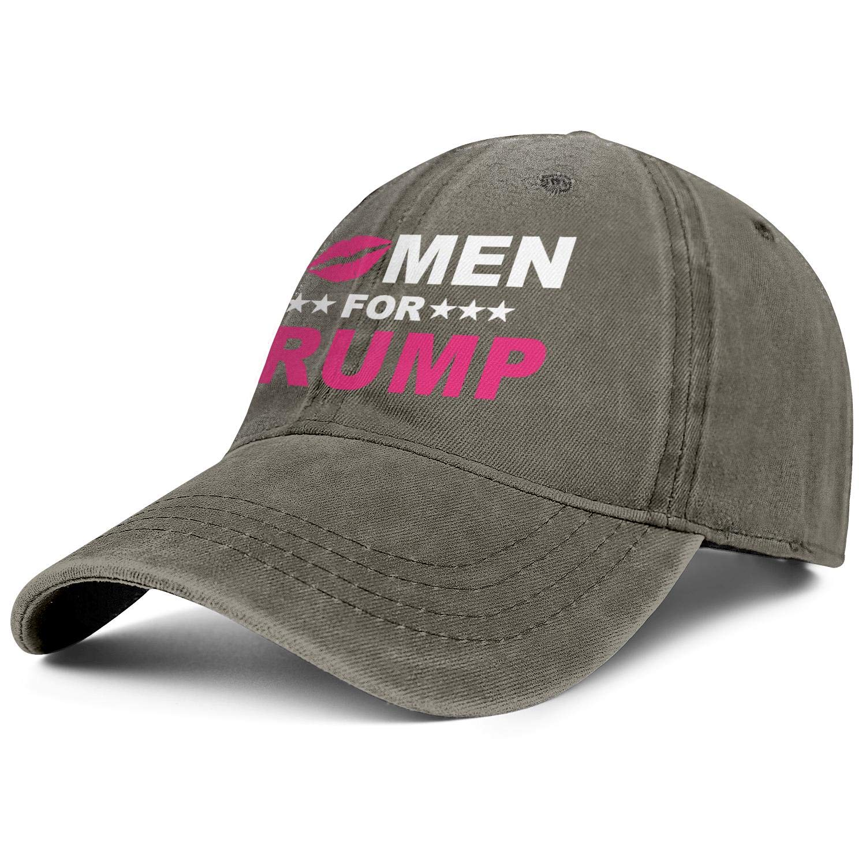 NYQACRRRE Mens Womens Caps Women for Trump Hat Snapback Flat Denim Cap Soft Hats