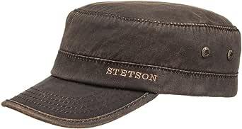 Stetson Gorra Datto Winter Army Hombre - Militar de con Visera ...