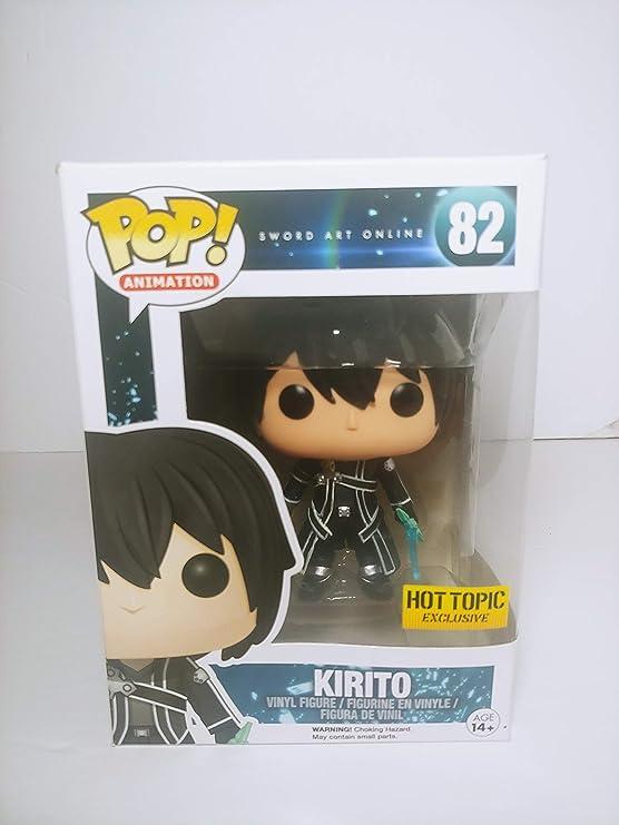 Kirito Vinyl Figure #6354 Sword Art Online Funko Pop Animation