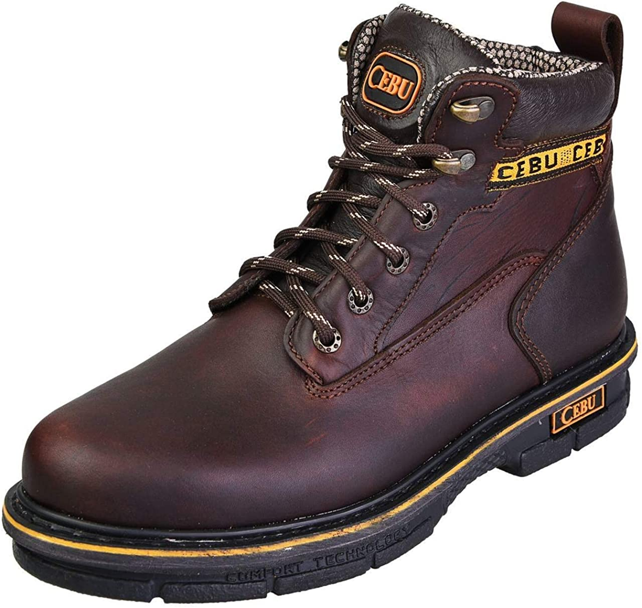 CEBU Men's Soft Toe Work Boots