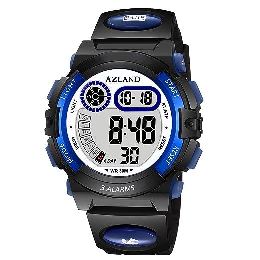 Azland niños niñas relojes, reloj de pulsera deportivo reloj Digital, Con Luz, nadar, Frozen, impermeable niños reloj: Amazon.es: Relojes