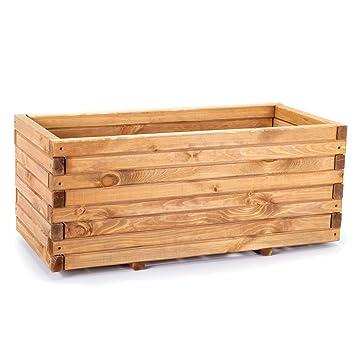 Pflanzkasten Holz 180cm 3 Grossen Hochbeet Fur Garten Terrasse